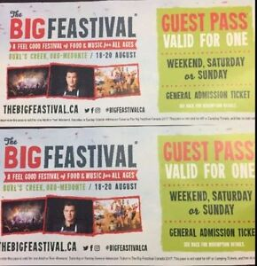 5 Weekend Passes for Big Feastival Canada