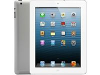 Apple ipad 4 wifi and 4g with 16gb and excellent condition
