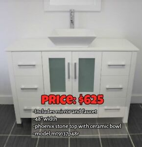 Clearance * Bathroom Vanities * Includes Everything