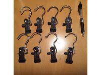Metal Clip Hooks - set of 240
