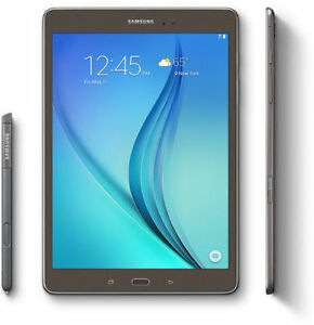 "Open Box Samsung Galaxy Tab A SM 9.7"" 16GB Titanium With Pen"