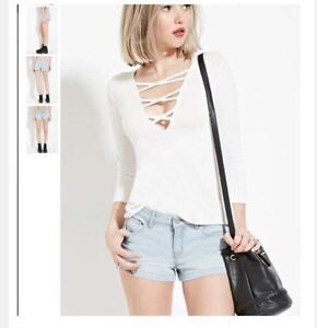 Forever 21 BNWT Jean shorts