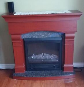 Provence Electric Fireplace by Sylvania