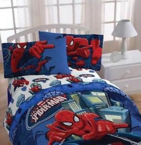 Marvel Spiderman Astonish Twin Sheet Set 3 Pcs Set Official Lice