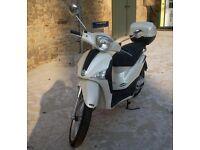 Piaggio Vespa Liberty 50cc scooter.