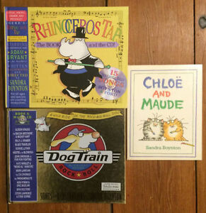 Children's books by SANDRA BOYNTON 3 for $10