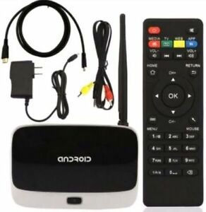 Android TV box Free Movies Free Tv  2GB of ram  get yours today!