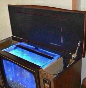 1960's Repurposed T.V. Aquarium Edmonton Edmonton Area image 5