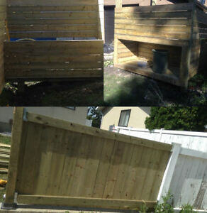 Need your fence, deck, railing or siding done or repaired? Strathcona County Edmonton Area image 3