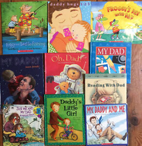 DADDY AND ME children's picture books $3 each or all 10 for $25 London Ontario image 1