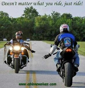 RIDE ALONE? JOIN US IN THE SPRING!