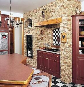 Brick Veneer, Brick Veneer on Sale, Reclaimed Euro Brick Veneer,