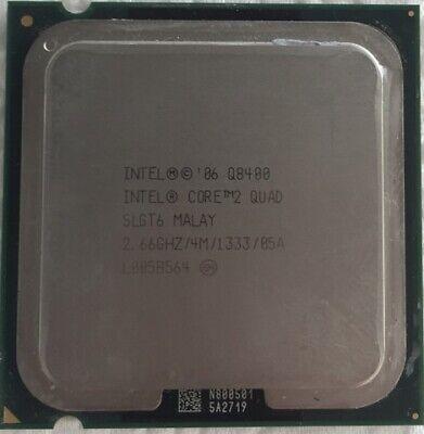 INTEL Core2 Quad Q8400 CPU 2.66GHz/4MB/1333Mhz LGA775 SLGT6, usado comprar usado  Enviando para Brazil