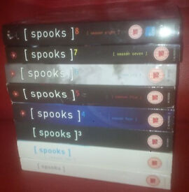 spooks dvd box sets for sale in liverpool