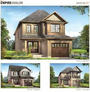 Brand New Detach Houses in Caledonia -Phase II-Only Few Left  A