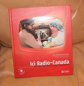 Livre Rare sur Radio Canada 50 ans de télévision francaise