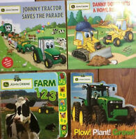 JOHN DEERE Picture Books for Kids - $3 each or all 4 for $10