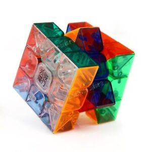 Transparent Speed Cube 3x3x3 - Stickerless