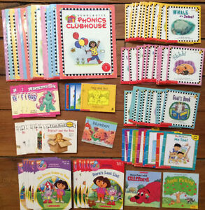 HUGE collection of PHONICS BOOKS 100 books for $50
