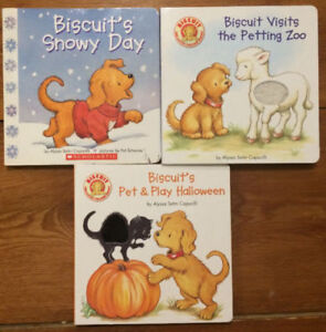 BISCUIT Board Books 3 for $10
