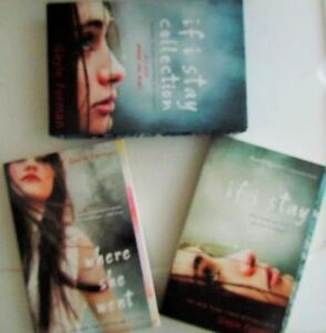 """IF I STAY'~""WHERE SHE WENT"" boxed set by Gayle FORMAN"