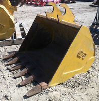 "36"" EFI TOOTH BUCKET for MINI EXCAVATOR BACKHOE USED in excellen"