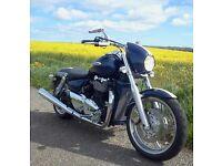 Triumph thunderbird 1600 - may p/x for cbf 1000 - ducati or triumph - no harley