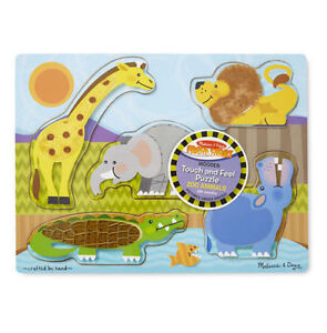 Brand New - Melissa & Doug Zoo Animals Touch and Feel
