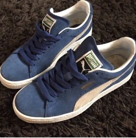 Puma Suede Trainers ladies size 3