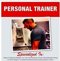 Contact me if your looking for a trainer