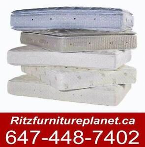 MATTRESS, BOX, METAL FRAME ON SALE SALE SALE!!!!