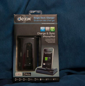Dexim Charging Dock for iPhone 3/3GS/4/4S, iPod/iPod Touch