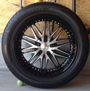 """22"""" Forte rims and tires off 2011 RAM 1500 FITS CHEVY TOO!"""
