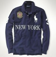 Ralph Lauren Country Jerseys Long Sleeve - New With Tags