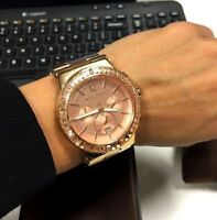 REDUCED!! ROSE GOLD MICHAEL KORS WATCH FOR CHEAP!