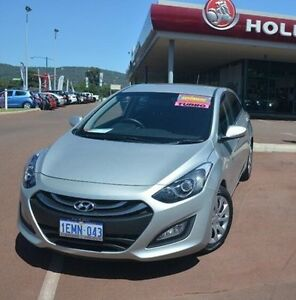 2014 Hyundai i30 GD2 Active Silver 6 Speed Sports Automatic Hatchback Gosnells Gosnells Area Preview