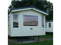 static caravan for hire at seton sands.