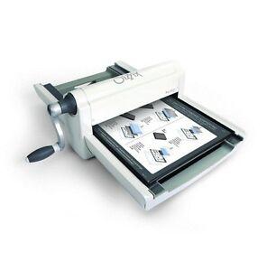 Sizzix Big Shot PRO Machine Stanzmaschine Prägemaschine White & Grey 660550