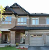 BEAUTIFUL KANATA LAKES TOWN HOME FOR SALE