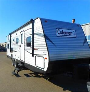 2017 COLEMAN 262 BH - TRAVEL TRAILER with BUNKS