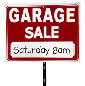 Garage Sale this Saturday! 510 Doon South Drive