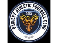 Baguley Athletic FC - Players Wanted for Men's Saturday Afternoon Team