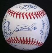 Atlanta Braves Team Autographed Baseball
