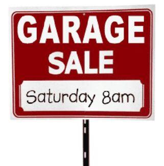 Garage Sale - So much stuff! Hackett North Canberra Preview