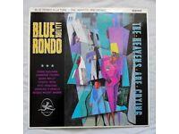 "Blue Rondo A La Turk - 'The Heavens Are Crying' vinyl 12"" single."