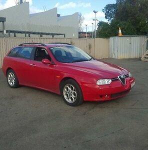 2003 Alfa Romeo 156 Red Manual Wagon Burwood Burwood Area Preview