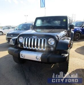 2014 Jeep Wrangler Unlimited 4x4 4dr Sahara