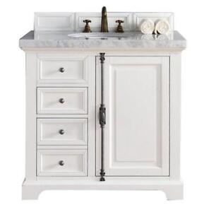 "Providence 36"" Single Bathroom Vanity & 2cm Top ( 4 Finishes )"