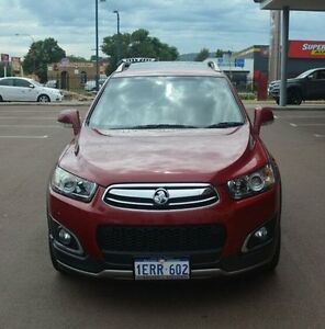 2015 Holden Captiva CG MY15 7 AWD LTZ Red 6 Speed Sports Automatic Wagon Gosnells Gosnells Area Preview