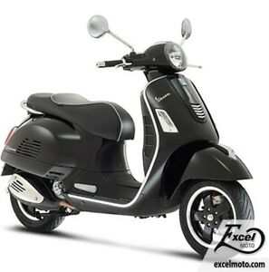2018 VESPA GTS 300 SUPER ABS E4 BLACK